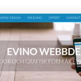 Evino logotypdesign